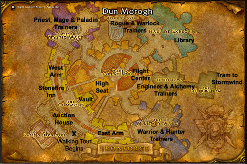 Wow Classic Demon Trainer Ironforge